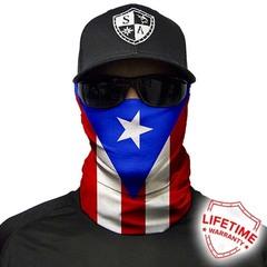 Бандана-труба SA Puerto Rico Flag (с флагом)