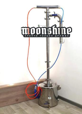 Ректификационная колонна Moonshine Прима Тора  фланец 2 с баком 20 литров
