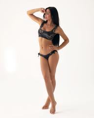 Спортивный топ Nebbia Miami sporty bikini - bralette 554 Tr.Black