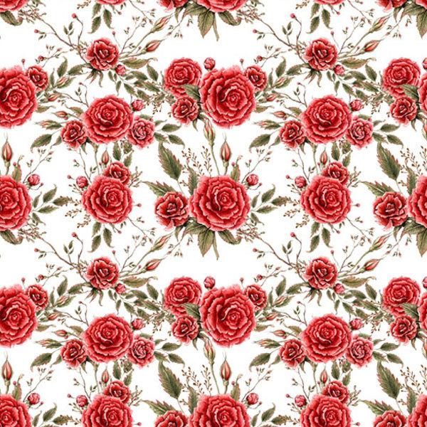 Водорастворимая бумага Розы фон