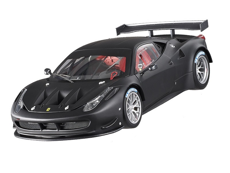 Коллекционная модель Ferrari 458 Italia GT2 2011 Matt Black Plain body