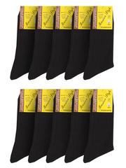 19 носки мужские, черные (10шт)