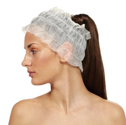 Полоска для волос нетканная широкая (15 см), 100 шт