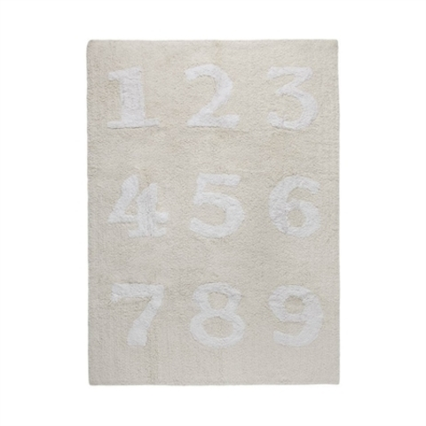 Ковер Lorena Canals Numbers Beige (120 x 160)