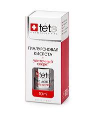 Гиалуроновая кислота, улиточный секрет TETe Hyaluronic Acid + Snail Extract, 10 мл