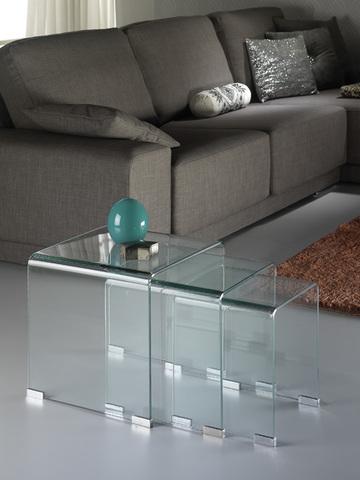Столик-матрешка Glass