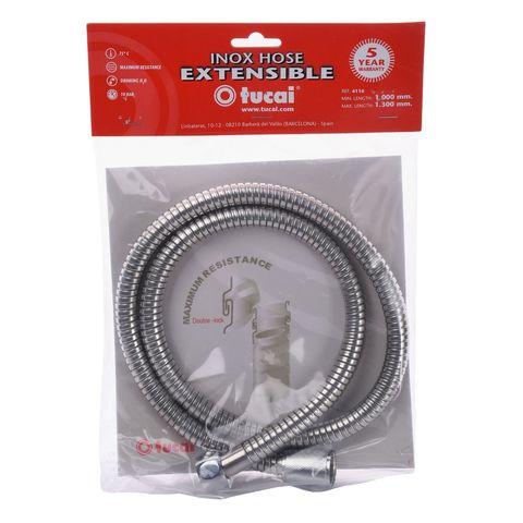 Шланг душевой TUCAI Stainless Steel 100-130 см (4116)