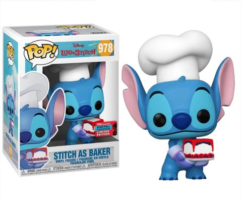 Funko Pop! NYCC2020 (Exc) Disney. Lilo&Stitch || Пекарь Стич