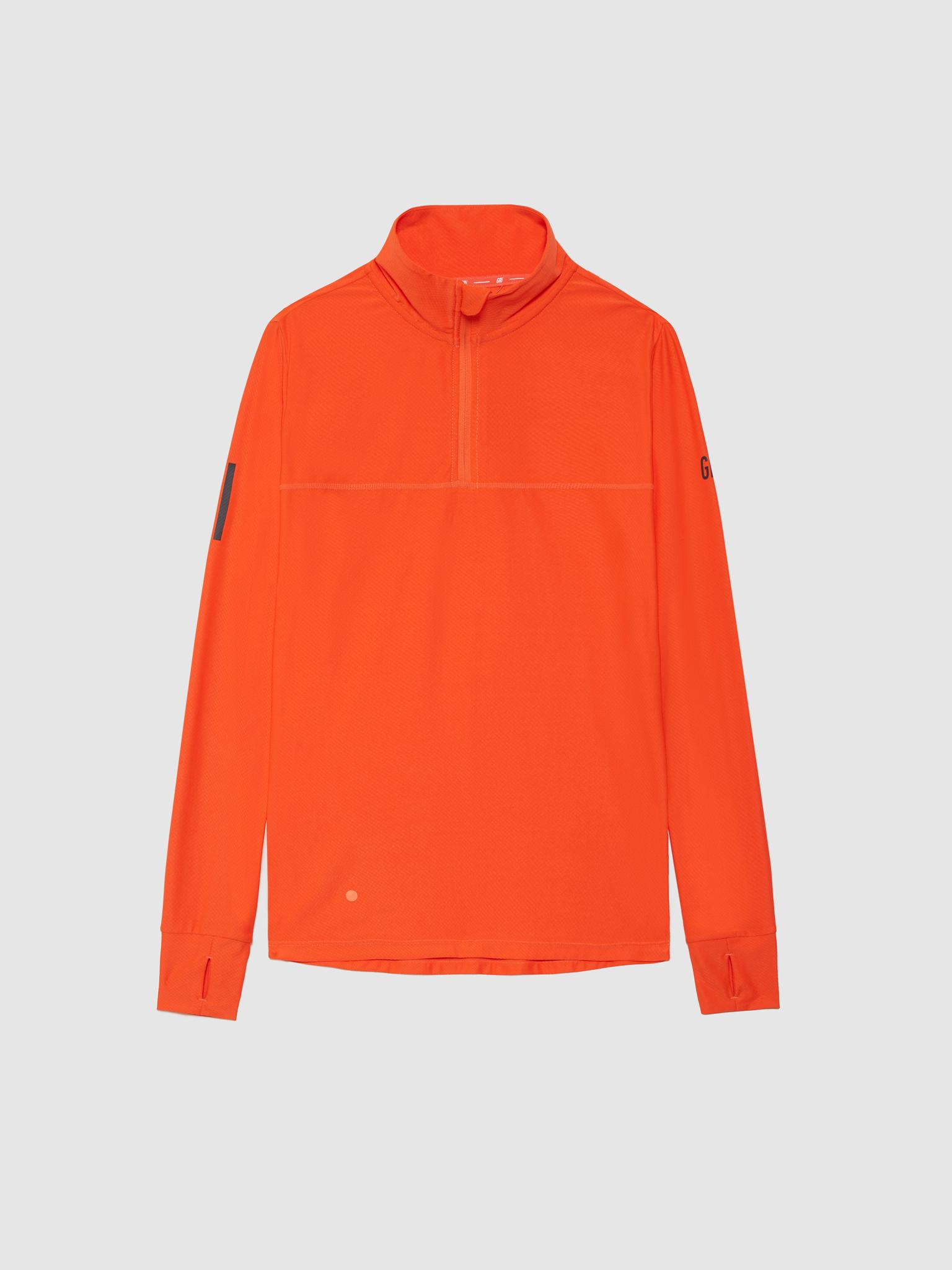 Рубашка женская Gri Лонг оранжевая