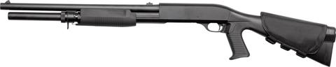 Страйкбольный дробовик Franchi SAS 12 (3 шара/выстрел), пружинный, пластик, 30 ВВ (артикул 16061)
