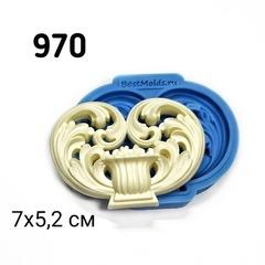 0970 Молд силиконовый. Орнамент