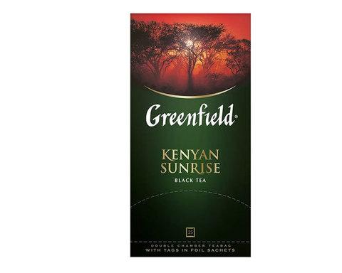 купить Чай черный в пакетиках из фольги Greenfield Kenyan Sunrise, 25 пак/уп
