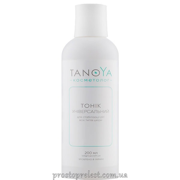 Tanoya Tonic for pH Stabilization - Тонік універсальний для стабілізації рН для всіх типів шкіри