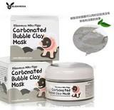 Кислородная глиняно-пузырьковая маска для сужения пор Elizavecca Carbonated Bubble Clay Mask