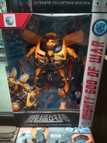 Супер робот трансформер Mighty God of War 40 см