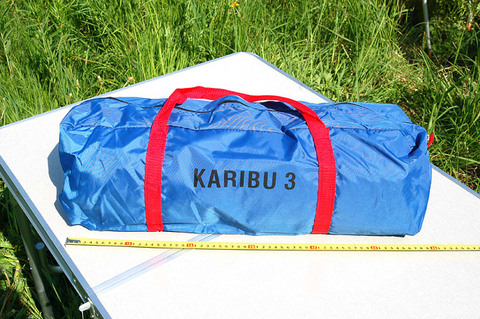 Палатка Canadian Camper KARIBU 3, цвет royal, сумка.