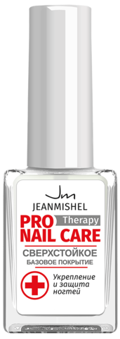 JEANMISHEL Pro Therapy Nail Care Сверхстойкое базовое покрытие 6мл