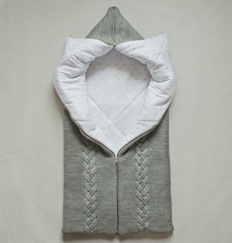 Вязаное одеяло трансформер