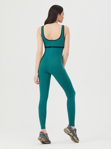Комбинезон для йоги Dark Green