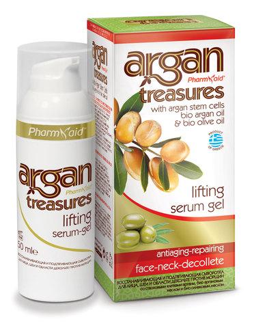 Сыворотка для лица, шеи и декольте ЛифтингЭффект ARGAN TREASURES