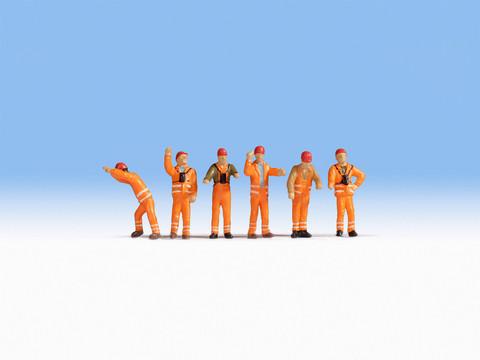 Рабочие 6 фигурок