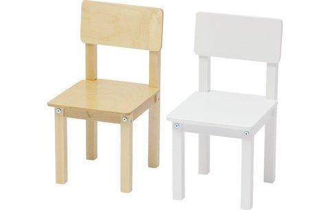Стул детский для комплекта детской мебели Polini kids Simple 105 S, натуральный