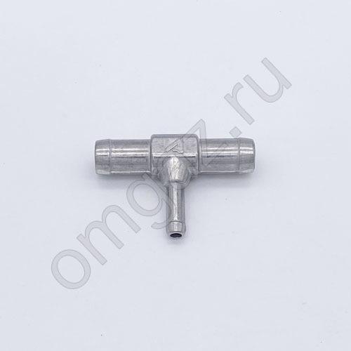 Тройник Atiker тосольный 16х8х16 алюминий