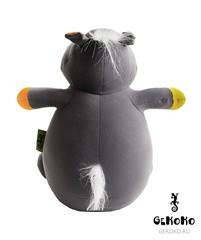 Подушка-игрушка антистресс Gekoko «Бегемот малыш Няша», оранжевый 6