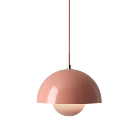 Подвесной светильник копия Flowerpot by Verpan Panton (розовый)