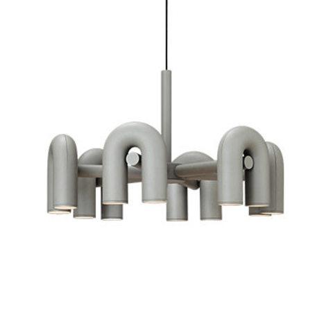Подвесной светильник Cirkus by AGO Lighting (6 плафонов/серый)