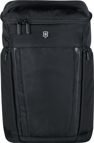 Городской швейцарский рюкзак VICTORINOX Altmont Professional Deluxe Fliptop Laptop Backpack с отделением для ноутбука, цвет чёрный, 49x33x24 см., 25 л. (602152)