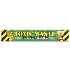 Жевательная конфета Toxic Waste Nuclear sludge со вкусом яблока 20 гр