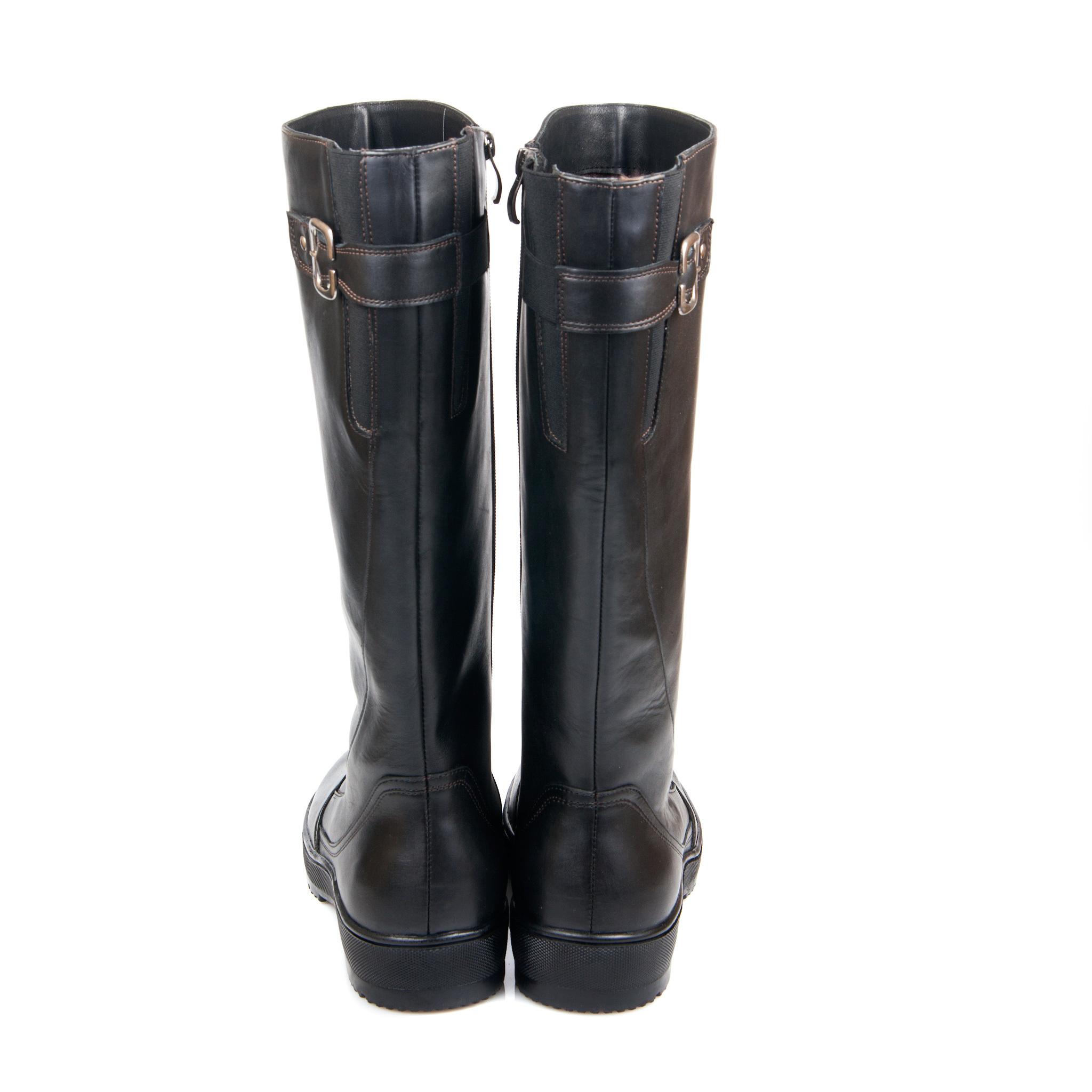 625559 сапоги женские больших размеров марки Делфино