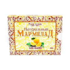 Мармелад натуральный Русские традиции Апельсин, 160гр рт-ма-160