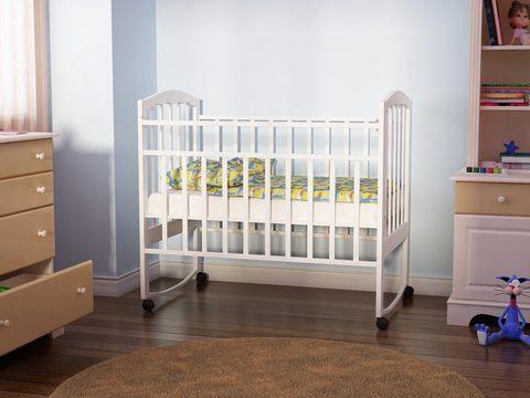 детская кровать Золушка 1 (белый)