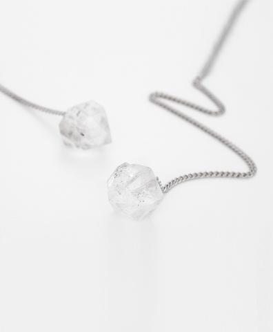 Серьги HERKIMER DIAMOND silver