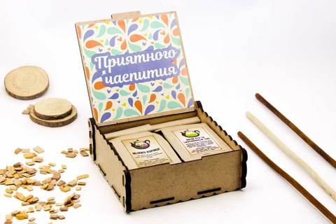 Чайная шкатулка - Мужской