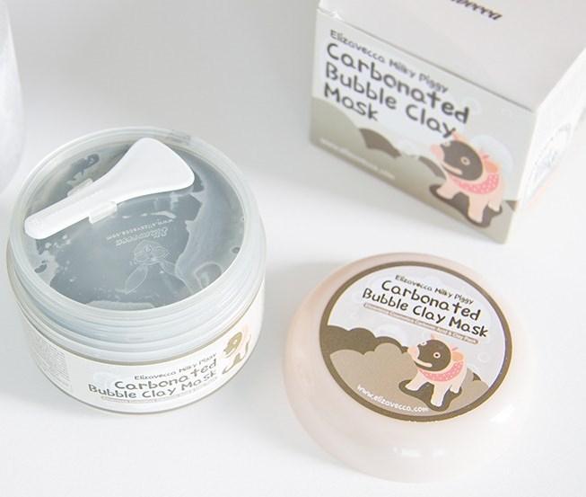 Кислородная пузырьковая маска Elizavecca Carbonated Bubble Clay Mask