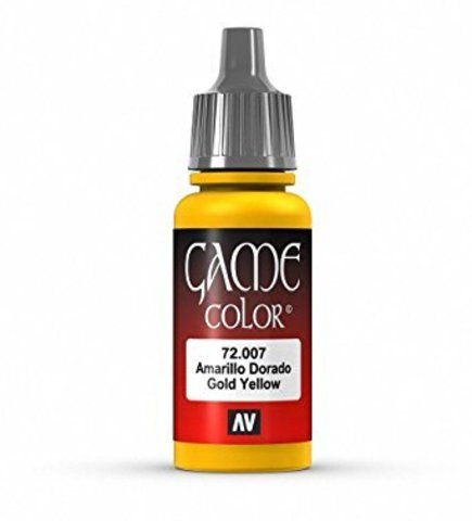 Game Color Gold Yellow 17 ml.