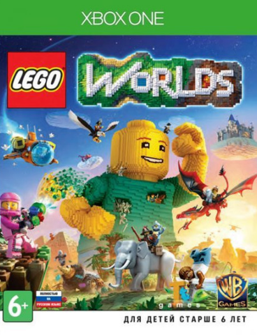 LEGO Worlds (Xbox One/Series X, русская версия)