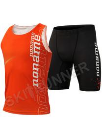 Элитный комплект для бега Noname Clubline Petter Digi UX майка+шорты