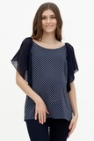Блузка для беременных 08690 синий