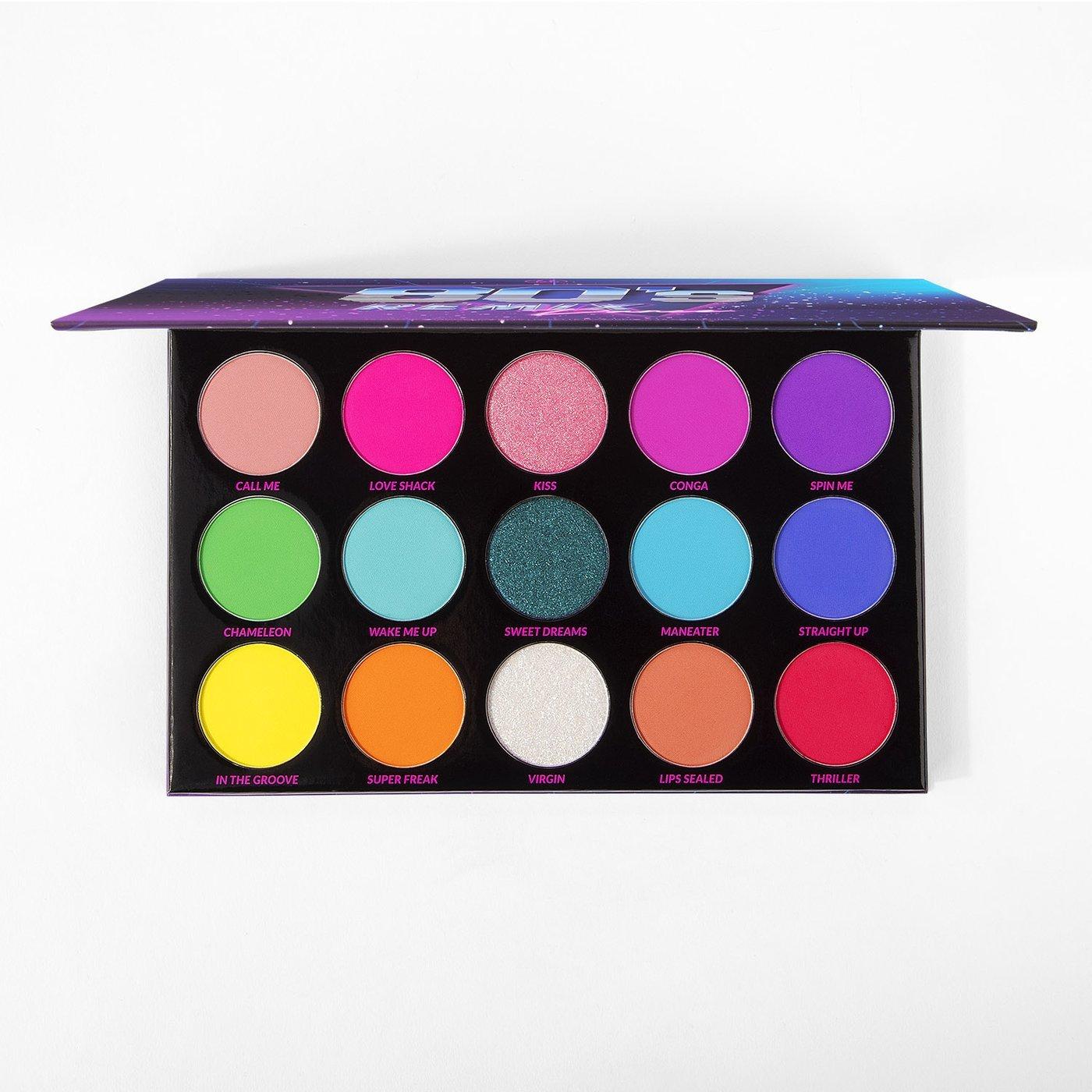 BH Cosmetics Remix Dance 80's eyeshadow palette
