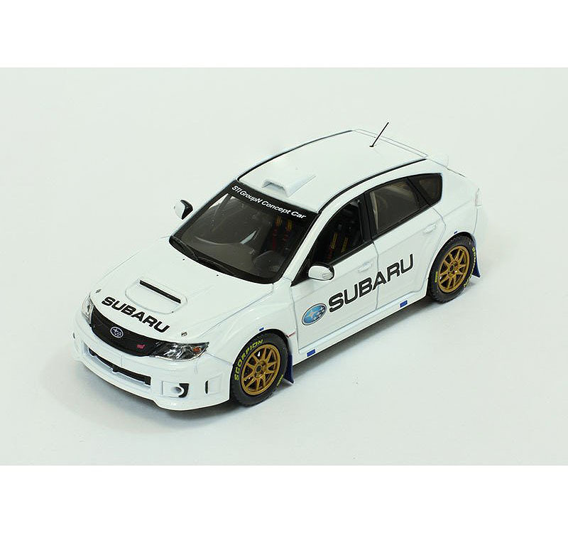 Коллекционная модель Subaru Impreza WRX STI Group N Concept Car 2010