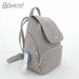 Сумка Саломея 502 серый (рюкзак)