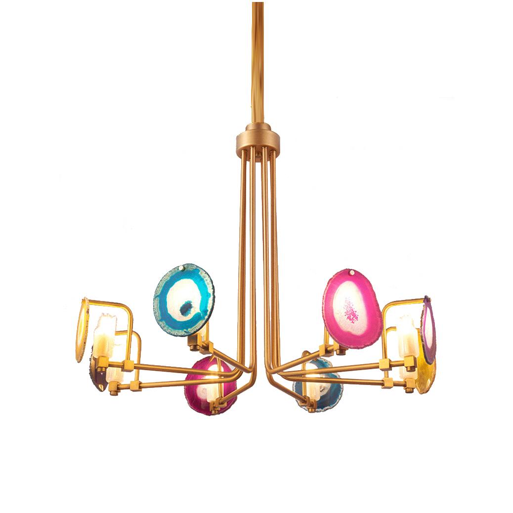 Подвесной светильник Branquinho by Eichholtz (8 плафонов)