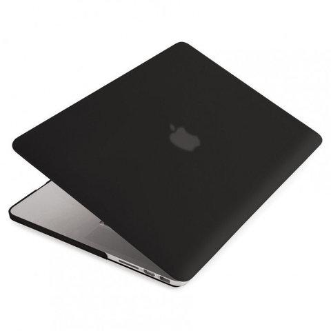 Накладка пластик MacBook Pro 12 Retina /matte black/ DDC