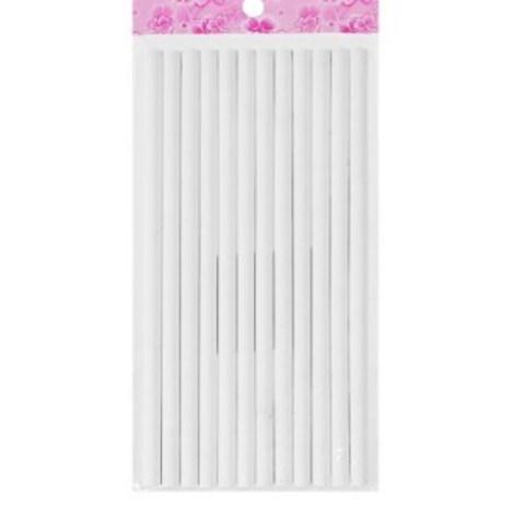 061-0196 Карандаш цветной по стеклу, ткани, металлу, пластику, резине, белый