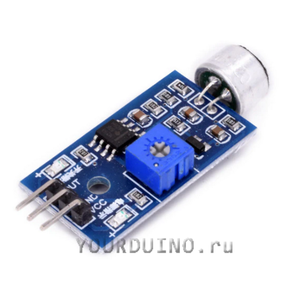 Модуль датчика звука LM393