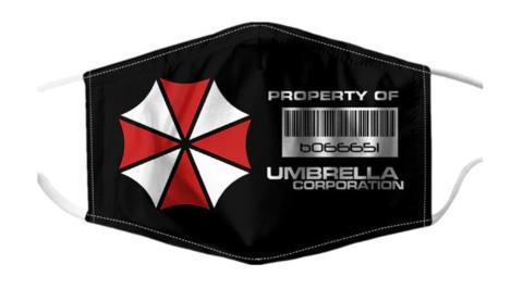Обитель Зла маска защитная многоразовая Корпорация Амбрелла